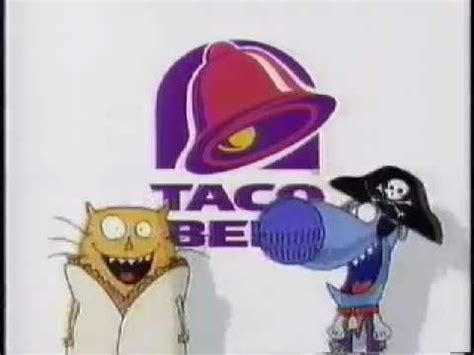 1996 Taco Bell Kid's Meal Commercial with Nacho and Dog