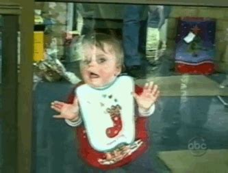 Child Wiping His Face On Window   Gifrific