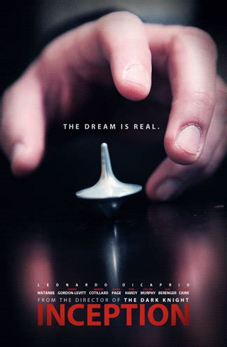 Inception Movie Poster Cinemagraph   Gifrific