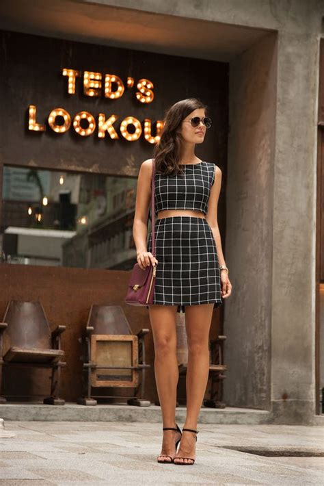 Fabulous Crop Tops and Skirts Outfits for Summer – The WoW