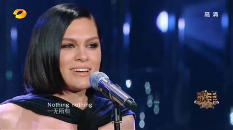 Jessie J sings I Have Nothing on China The Singer 2018