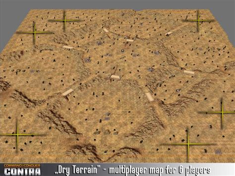 Multiplayer map: Dry Terrain image - Contra mod for C&C