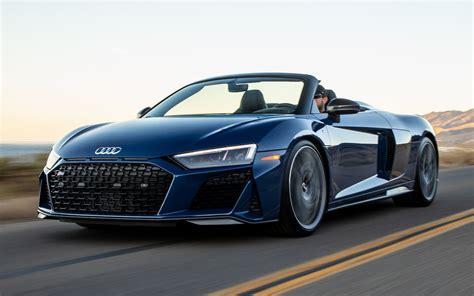 2020 Audi R8 Spyder Performance (US) - Wallpapers and HD