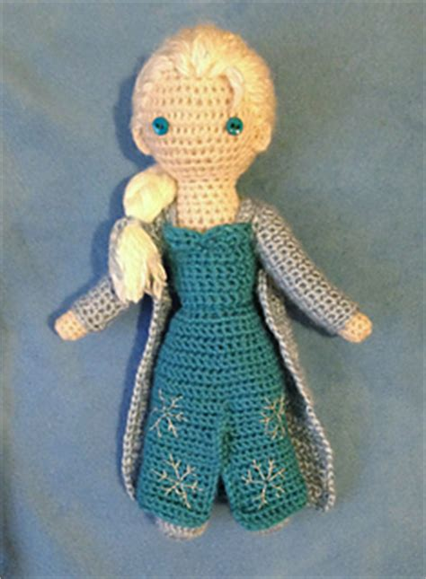 Frozen Inspired – Patterns to Crochet – free – Grandmother