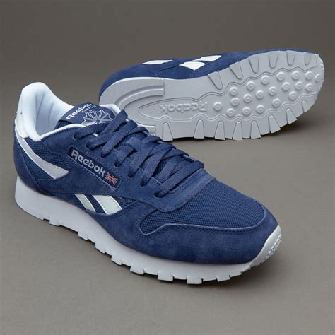 Mens Shoes - Reebok Classic Leather IS - Midnight Blue