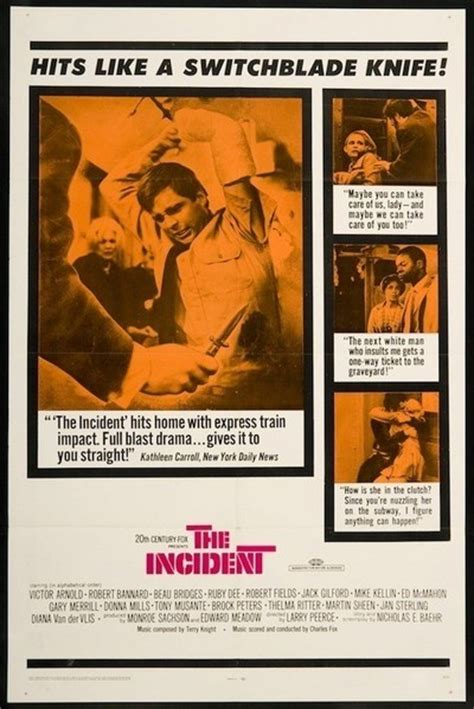 The Incident movie review & film summary (1968)   Roger Ebert