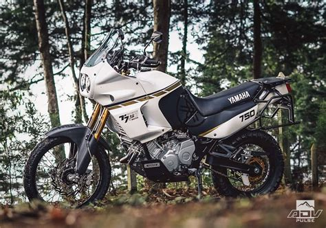 Old Meets New In This Stunning Yamaha XTZ 750 Super Tenere